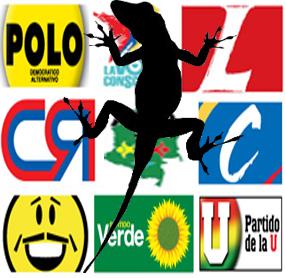 Del Lagarto, en la Politica. (1/2)